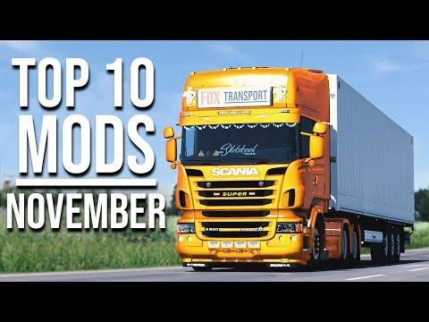 TOP 10 ETS2 MODS - NOVEMBER 2019 | Euro Truck Simulator 2 Mods