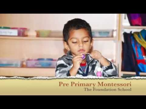 Montessori Pre Primary at The Foundation School, Bangalore