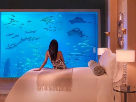 Самый дорогой отель Атлантис изнутри! Atlantis the Palm! Dubai!