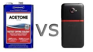 ACETONE  vs  PHONE !!