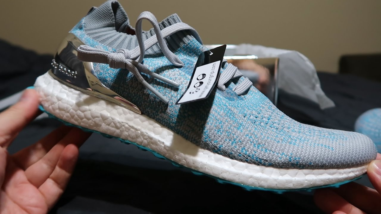 f9ab224b8b720 ASMR Adidas X Kolor Uncaged Ultra Boost Unboxing + Review - YouTube