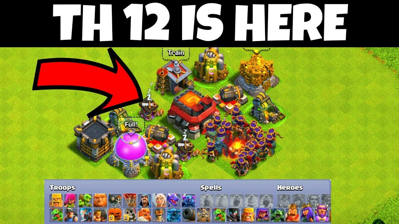 Th 12 Is Here Clash Of Clans Hindi Youtube