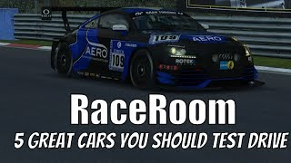 RaceRoom Racing Experience - My Favourite Cars, and Possibly the Best Way to Judge this Sim