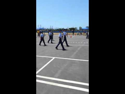 Elsinore High School AFJROTC 4 man exhibition