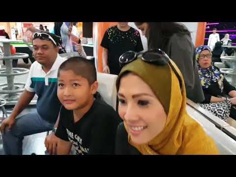 ( SPORT ) BOWLING AND RIDING MONORAIL - AMPANG - MALAYSIA - BOLING DI NEGARA JIRAN BERSAMA BUDAK