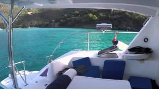 BVI - Cruising on a Moorings power cat