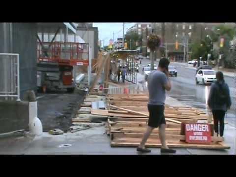 Toronto hurricane august 21 2011 - the big storm!