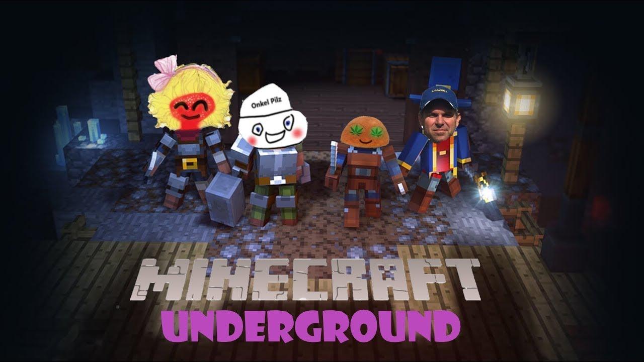Hype auf 24 H stream minecraft Untergrund | Onkel Pilz