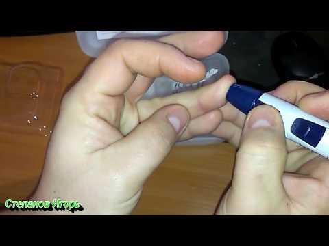 Глюкометр One Touch Select Simple Как измерить сахар глюкометром.