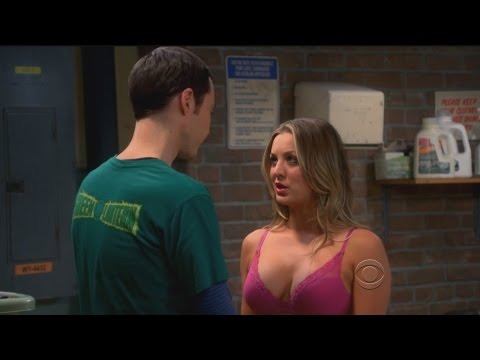 Kaley Cuoco ( Penny) boobs tits tribute 720p