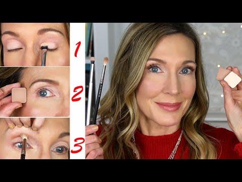 Makeup 101 for Mature Beginners | 3-Step Eyeshadow Tutorial