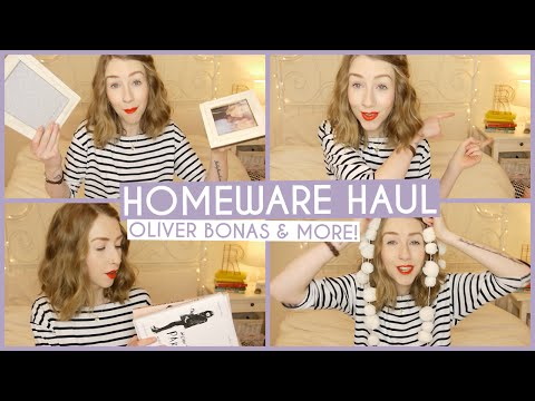 Homeware Haul • Oliver Bonas & More!