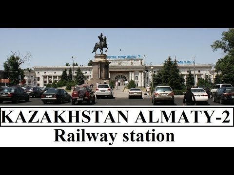 Kazakhstan/Almaty-2 Railway Station  Part 15