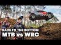 Mountain Biker Races WRC Driver I Andreu Lacondeguy vs Dani Sordo