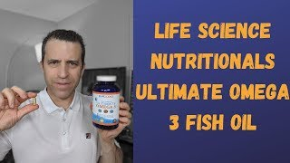 Life Science Nutritionals Vs. Dr. Tobias Omega 3 Fish Oil Review