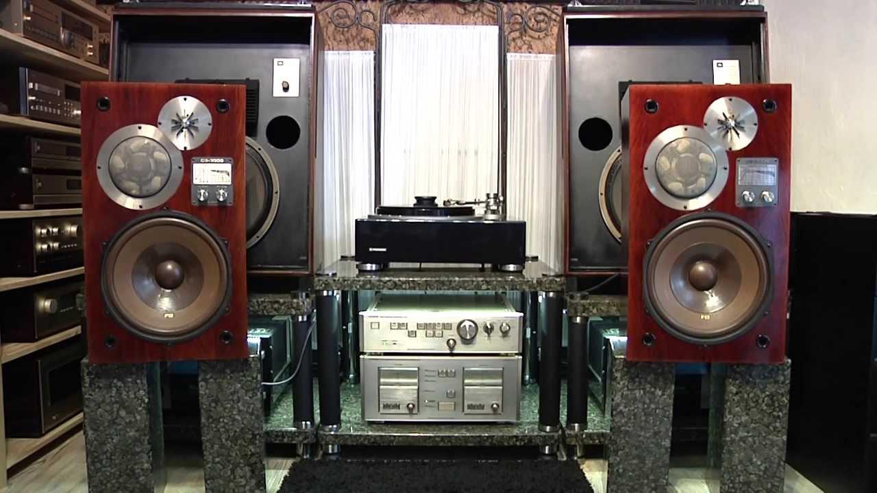 Звук бюджетной акустики Pioneer S-ES3TB - YouTube