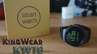 KingWear KW18, un smartwatch parecido al Gear S2 con SIM [Review]