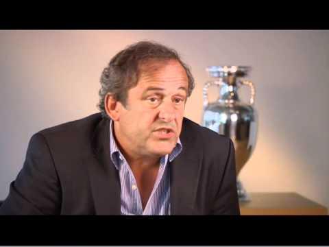EURO 2012 - MICHEL PLATINI INTERVIEW