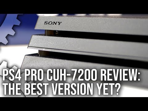 Playstation 4 Pro Cuh 7200 Review The Quietest And Best Pro Yet Youtube