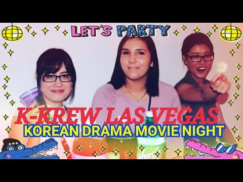 Vegas Korean drama Movie Night Vlog 090817