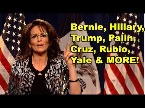 Bernie, Hillary, Palin, Trump, Yale  - Tina Fey, Donald Trump & MORE! LV Sunday Clip Roundup 144