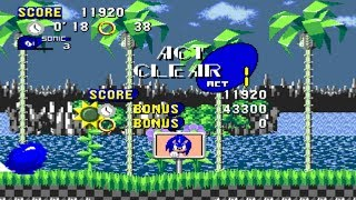 [TAS] Sonic HybridX - First Zone