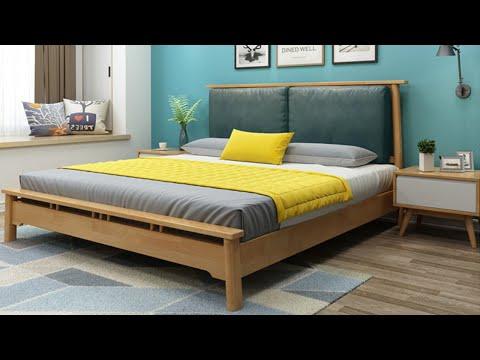 Giường ngủ hiện đại, giường gỗ tự nhiên cao cấp AAD