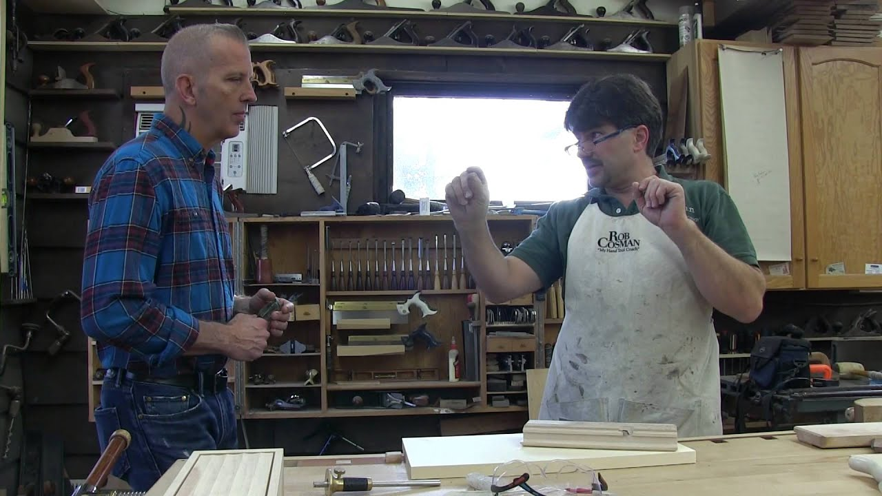 Paul Deakin Of The Mavericks Visits Rob Cosman In The Shop