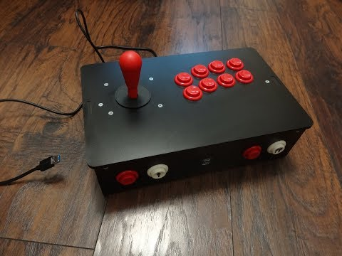 Building an Arcade Joystick Controller – TECH