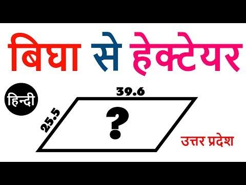 Hectare To Bigha Conversion In Uttar Pradesh | bigha to hectare