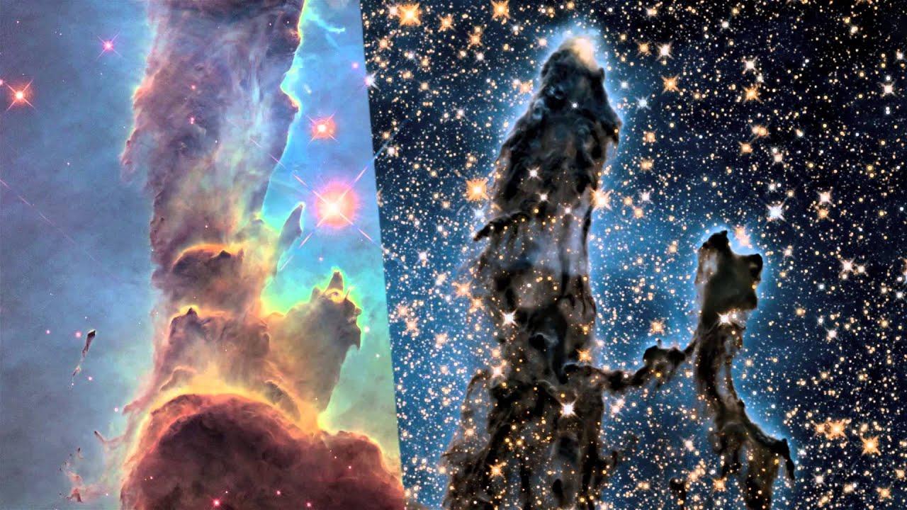 Hubble Return to the Eagle Nebula - YouTube