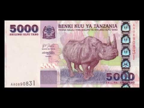 All Tanzanian Shilling Banknotes - 2003 to 2006 in HD