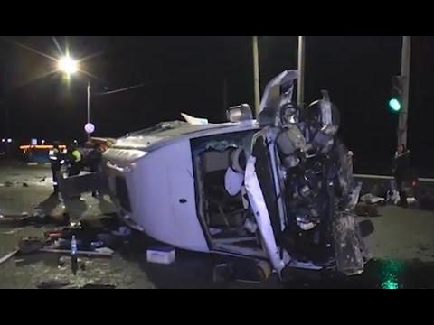 Автобус с пассажирами разбился под Калугой