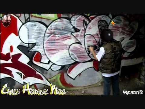 Colo Chk Crazy Hispanic Kids Crew Nyc Street Bombing 2011 CHK COLO