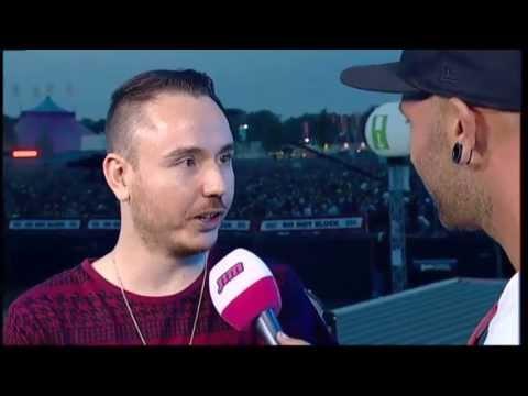 Interview Duke Dumont @ Pukkelpop 2013