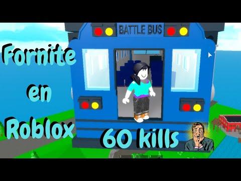 ????60 Kills en FORNITE Dentro De Roblox | Roblox Fornite Simulator | Yui Panda????