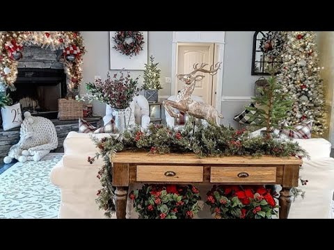 Amazing modern farmhouse Christmas home tour