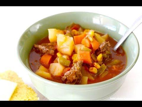 Vegetable Beef Stew Crockpot OR Instant Pot