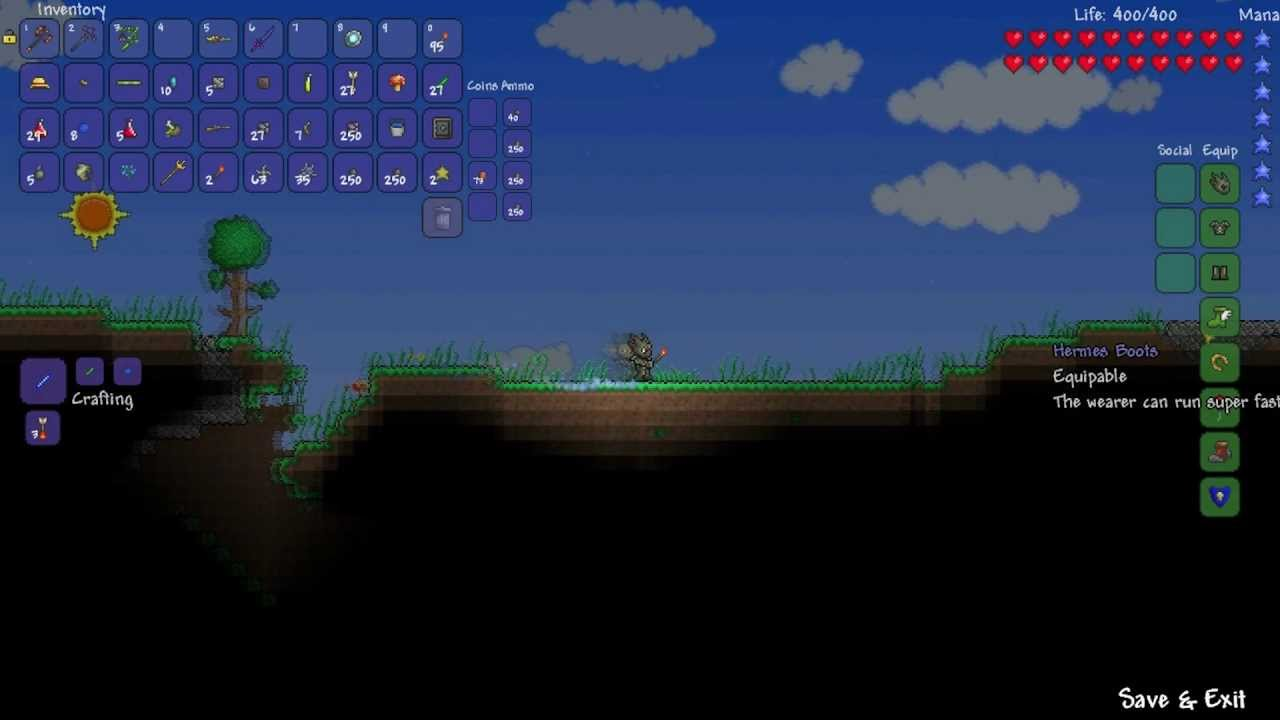 Terraria  The best accessories set  YouTube