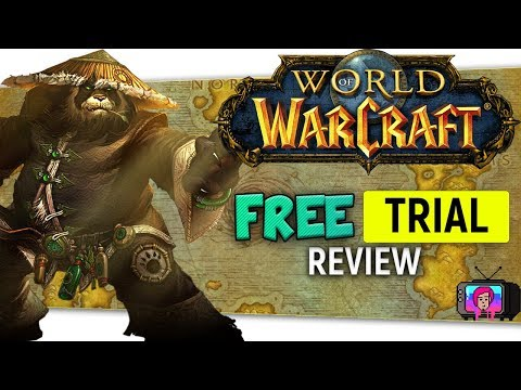 """🗺️""""World of Warcraft Free Trial"""" Review lv 1 - 20 Leveling 