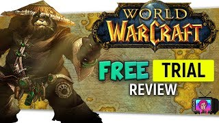"🗺️""World of Warcraft Free Trial"" Review lv 1 - 20 Leveling 