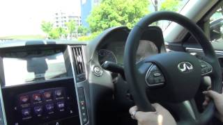 Nissan Skyline Hybrid 2014 New model Test Drive