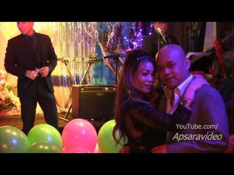 សែនអាល័យ  - ជប់លៀងឆ្នាំថ្មី ២០១៧ Samal sings Khmer song for New Year Party