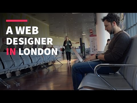 A Web Designer in London