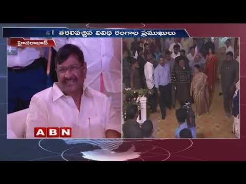 ABN MD Vemuri Radha Krishna Attends Ramoji Rao Grand Daughter Wedding   ABN Telugu
