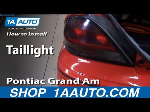 Pontiac Grand Am Turn Signal Fix Repair Doovi