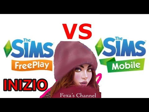THE SIMS MOBILE vs THE SIMS FREEPLAY (ITA) [Ep.1]