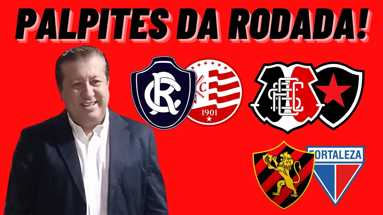 Download PALPITES DA RODADA! JOGOS: REMO X NÁUTICO | SANTA CRUZ X. BOTAFOGO | SPORT X FORTALEZA! SEM MURO!