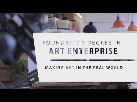 Making Art in the Real World, Art Enterprise Foundation Degree - Leeds City College