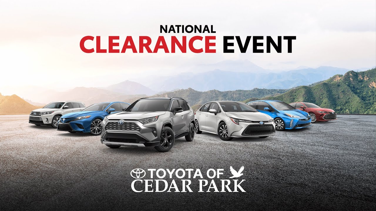 New Toyota Dealer | Near Austin, Texas | Toyota of Cedar Park